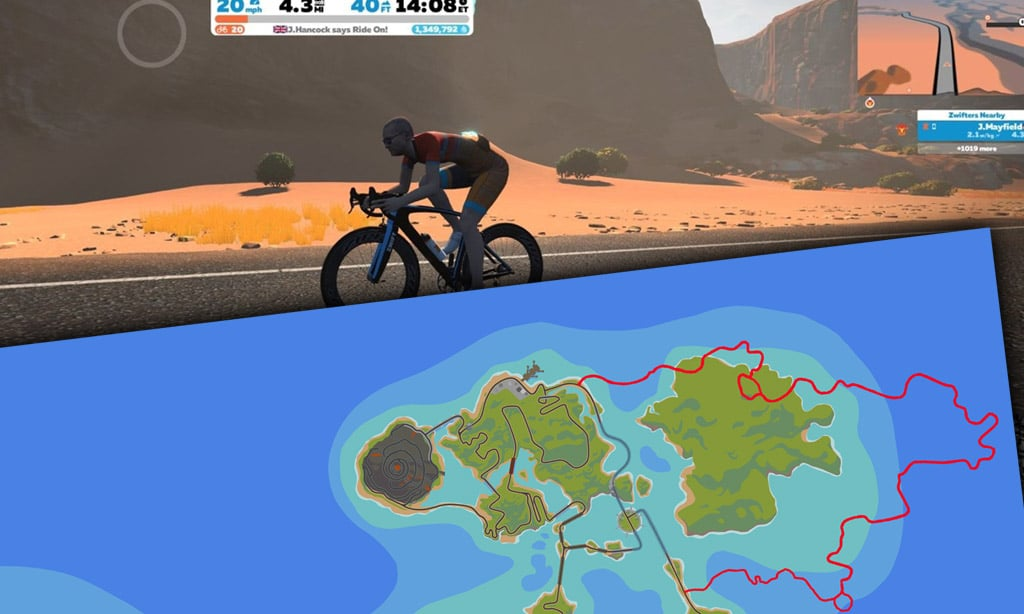 Check Out Jon Mayfield's Desert Expansion Strava Ride
