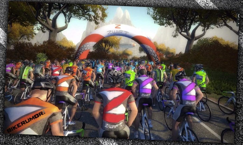 Five Years Ago Today on Zwift…