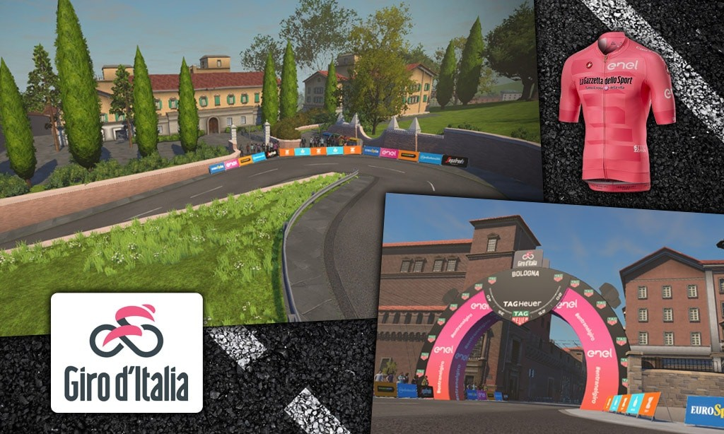 Zwift Announces Giro d'Italia Bologna TT Course
