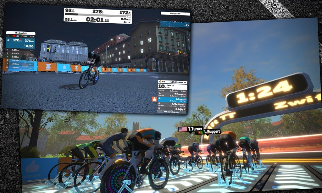 All About Zwift's New Time Trial Mode