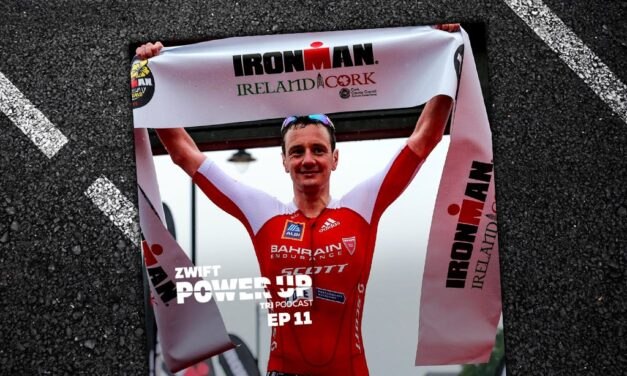 Alistair Brownlee Cannot Be Stopped (Zwift Power Up Tri Podcast #11)