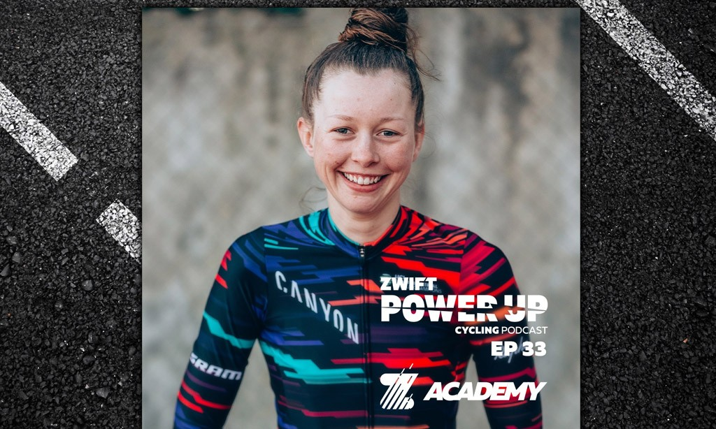 Ella Harris on Life in the Pro Circuit (Zwift Power Up Cycling Podcast #33)