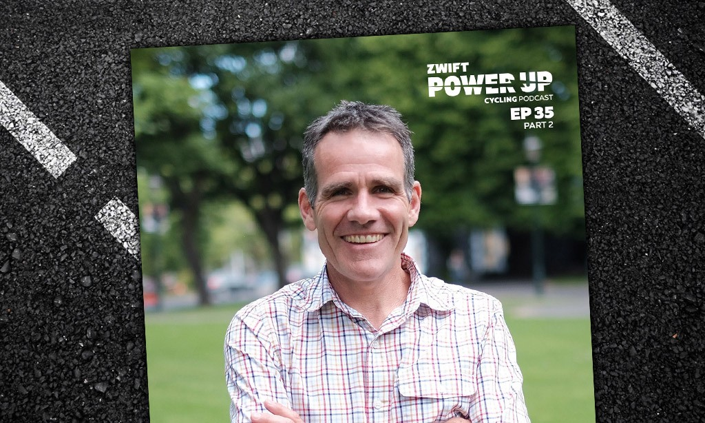 Professor Jim Cotter on Heat, Humidity, and Bathroom Training Part 2 (Zwift Power Up Cycling Podcast #35)