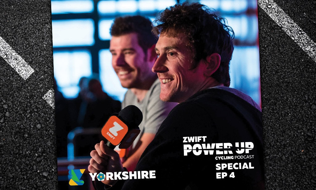 World Championship Special #4 with Geraint Thomas, Luke Rowe, Ella Harris, Julie Leth and Audrey Cordon-Ragot (Zwift PowerUp Cycling Podcast)
