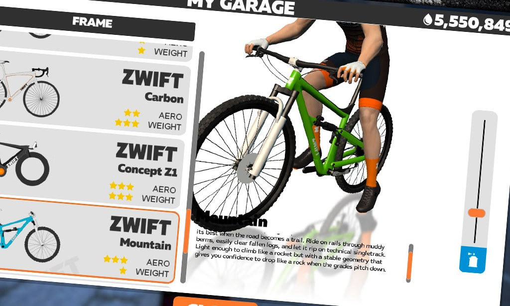 How to Unlock the Zwift Mountain Bike