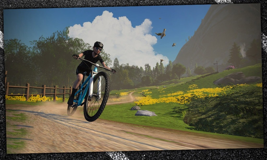 "How to Find ""Repack Ridge"", Zwift's Singletrack Mountain Bike Steering Course"