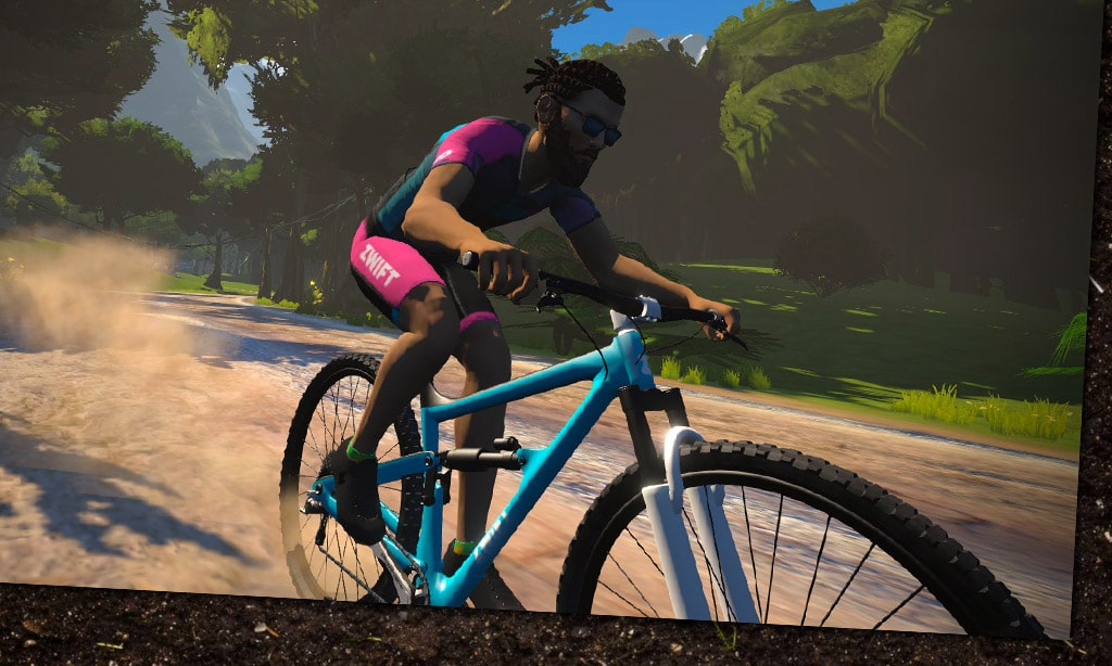 Meet the New King of the Jungle: the Zwift Mountain Bike