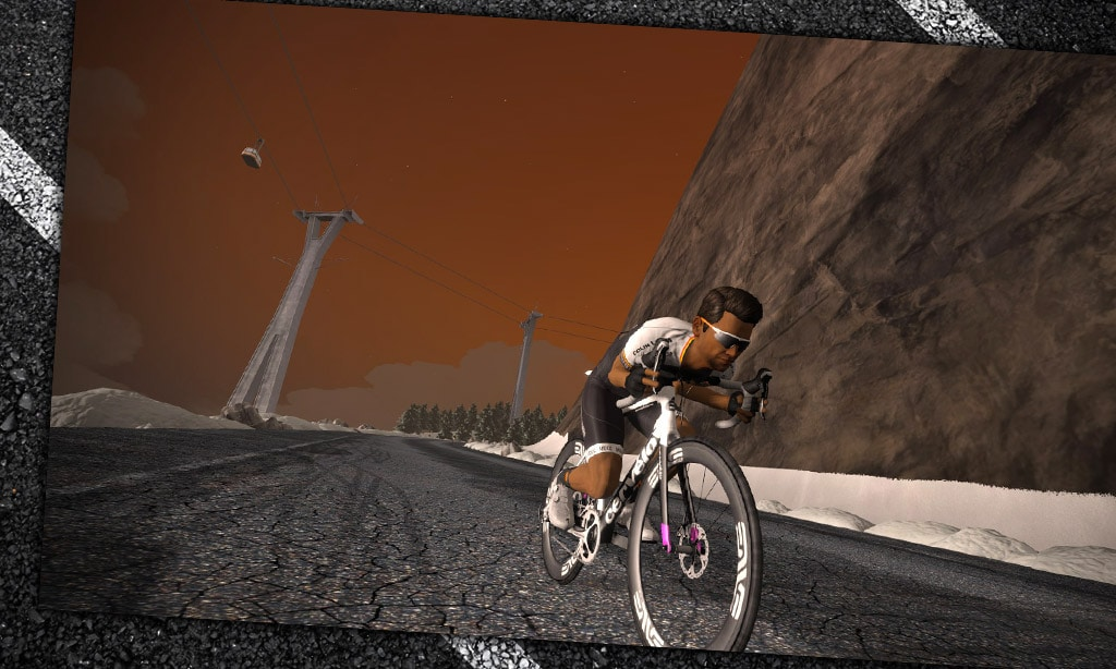 All About the Supertuck On Zwift