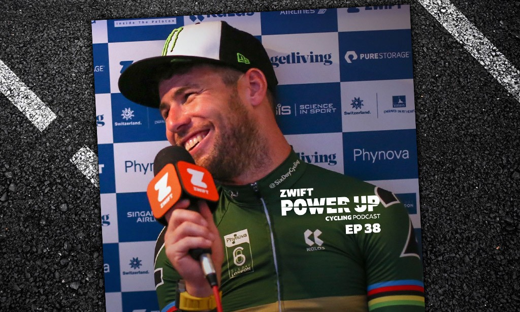 Six Day Special with Mark Cavendish, Elia Viviani, Katie Archibald and more (Zwift PowerUp Cycling Podcast #38)