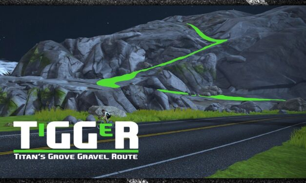 Is this the next Watopia Gravel Route?