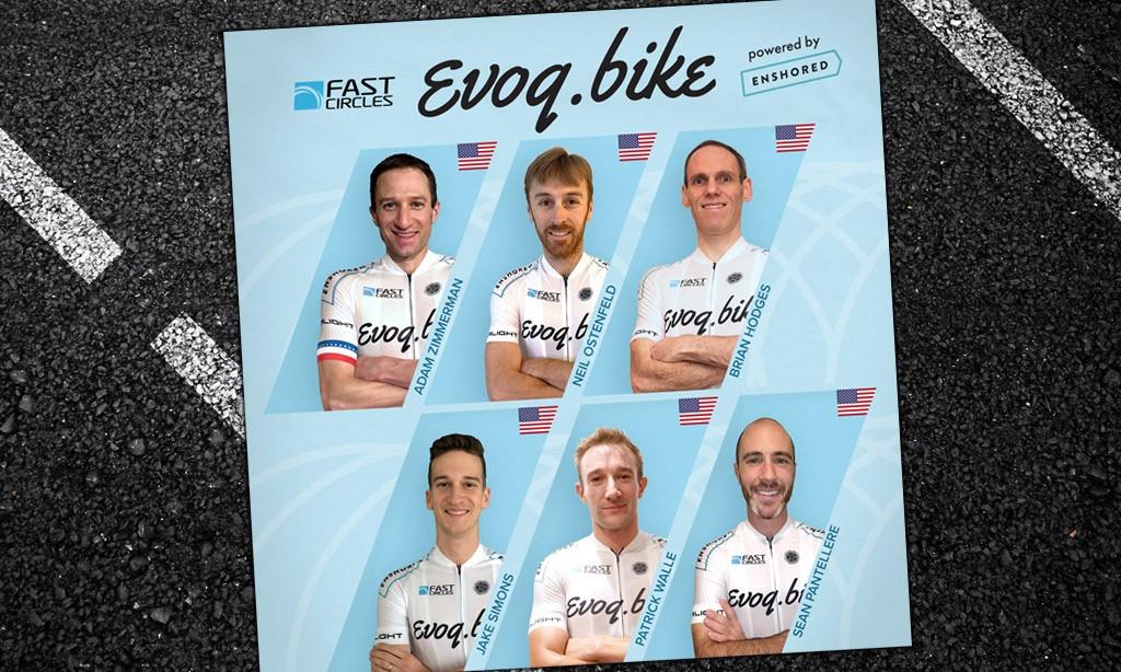 Evoq.bike p/b Enshored Pro Zwift Team Announced