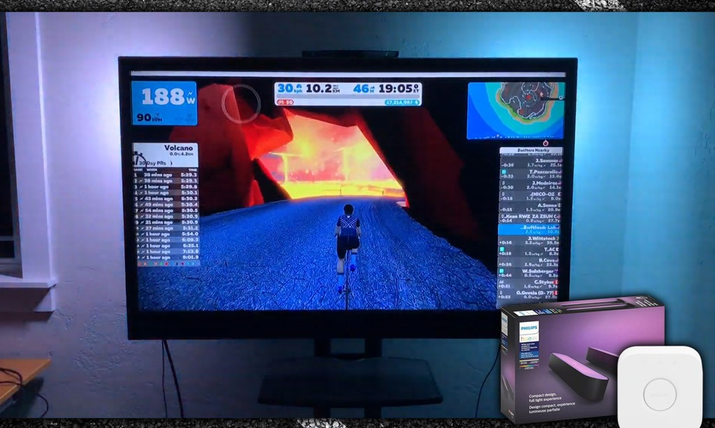 Enhance Your Zwift Sessions with Philips Hue Smart Lighting