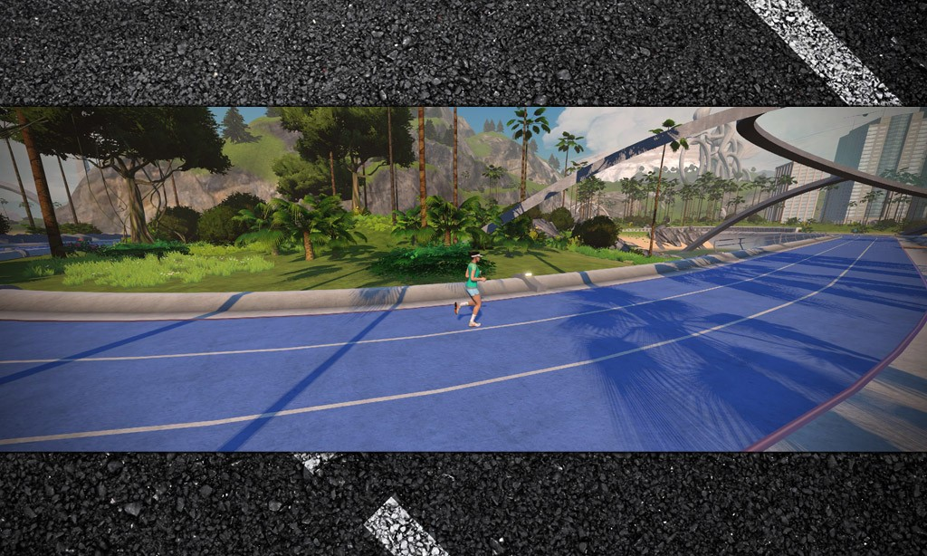 "400m ""May Field"" Running Track Released on Watopia"