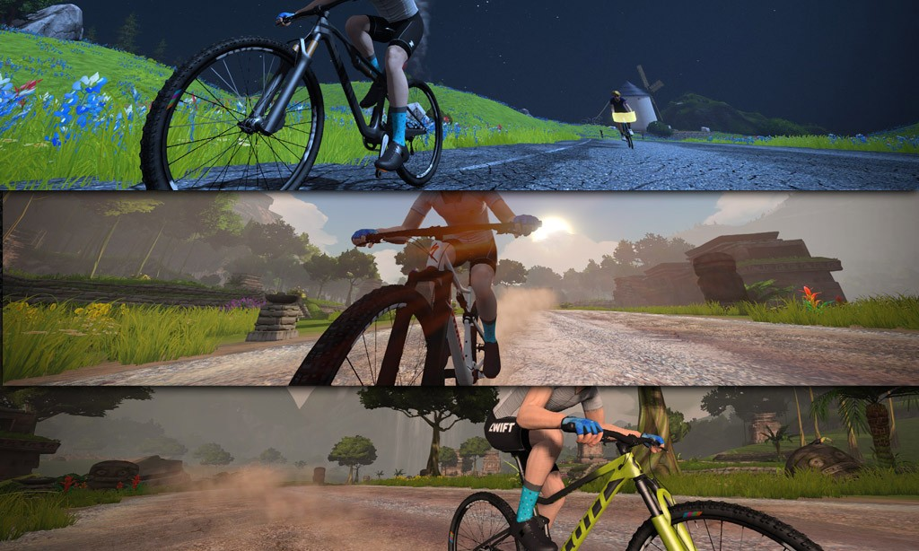 Learn How Zwift's New Mountain Bikes Perform