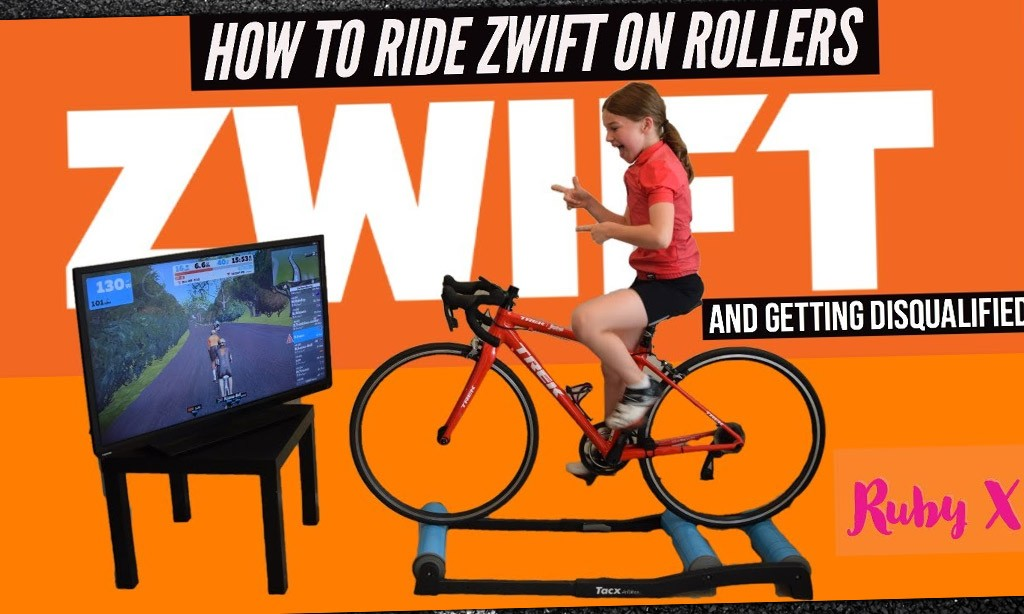 Video: How to Ride Zwift on Rollers
