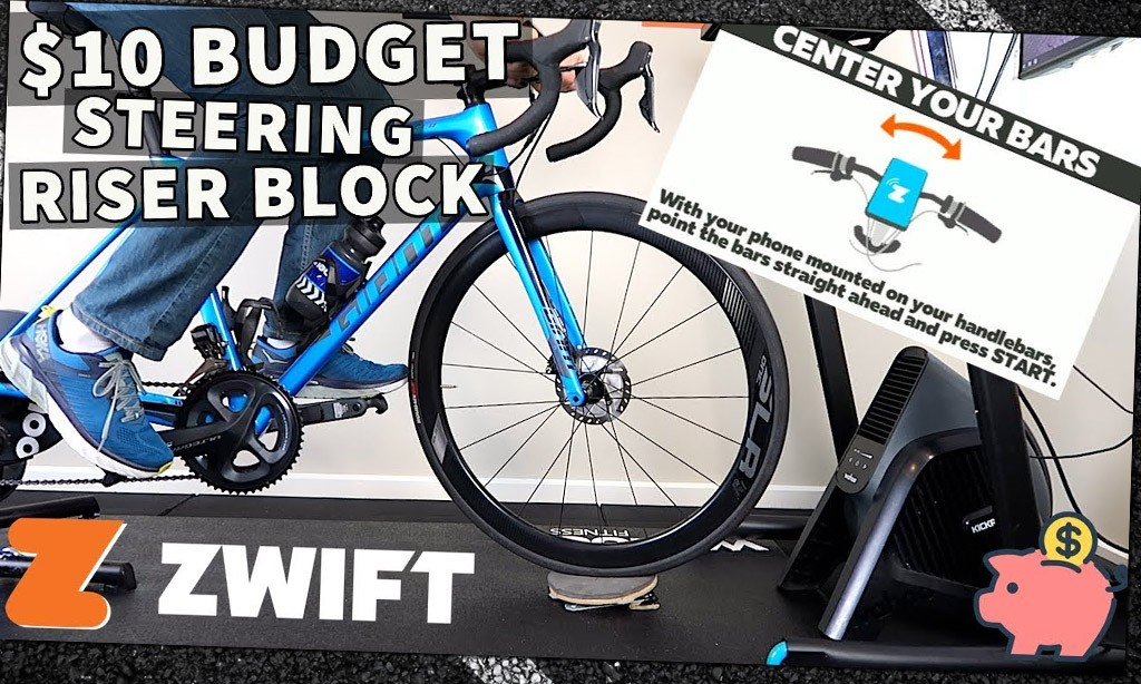 Video: Make Your Own Zwift Steering Riser