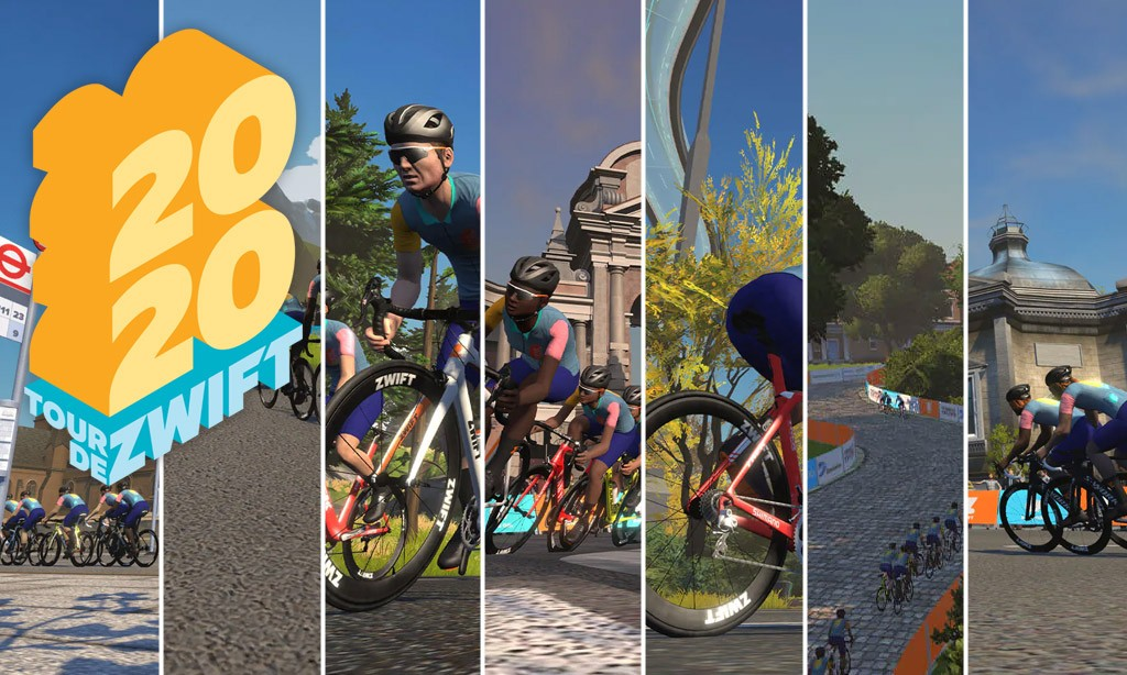 All About Tour de Zwift 2020 (Ride)