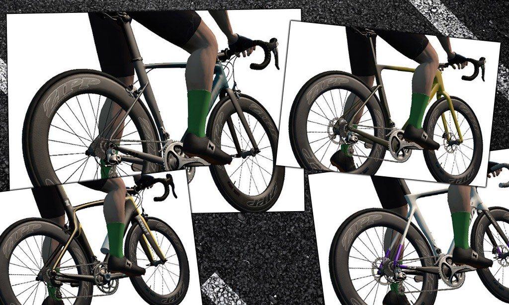 Fastest Bike Frames and Wheels for Beginning Zwifters (Level 15 and Below)