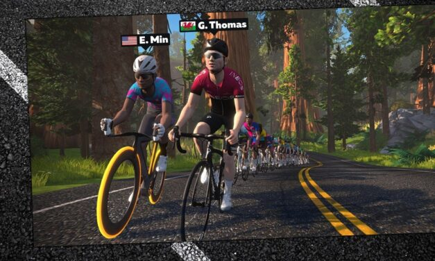 Ride with Geraint Thomas and Eric Min Next Week