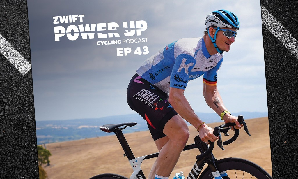 Andre Greipel on Sprinting and Managing Nerves (Zwift PowerUp Cycling Podcast #43)