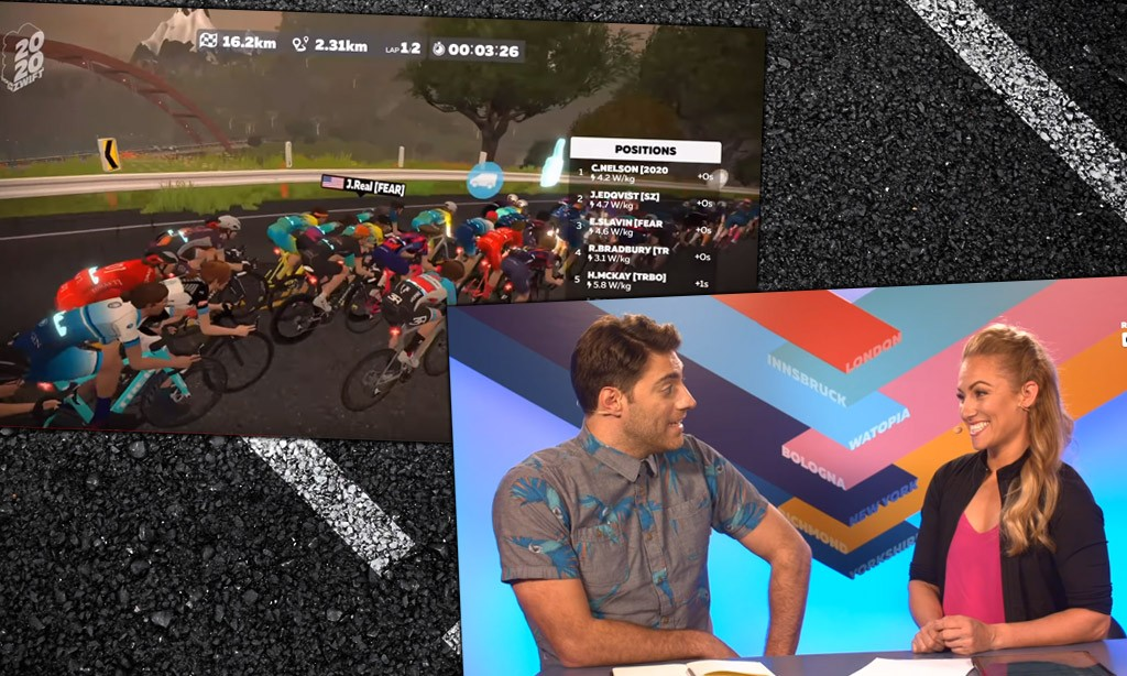 Video: Tour de Zwift Stage 3: Watopia Pro-Am Race