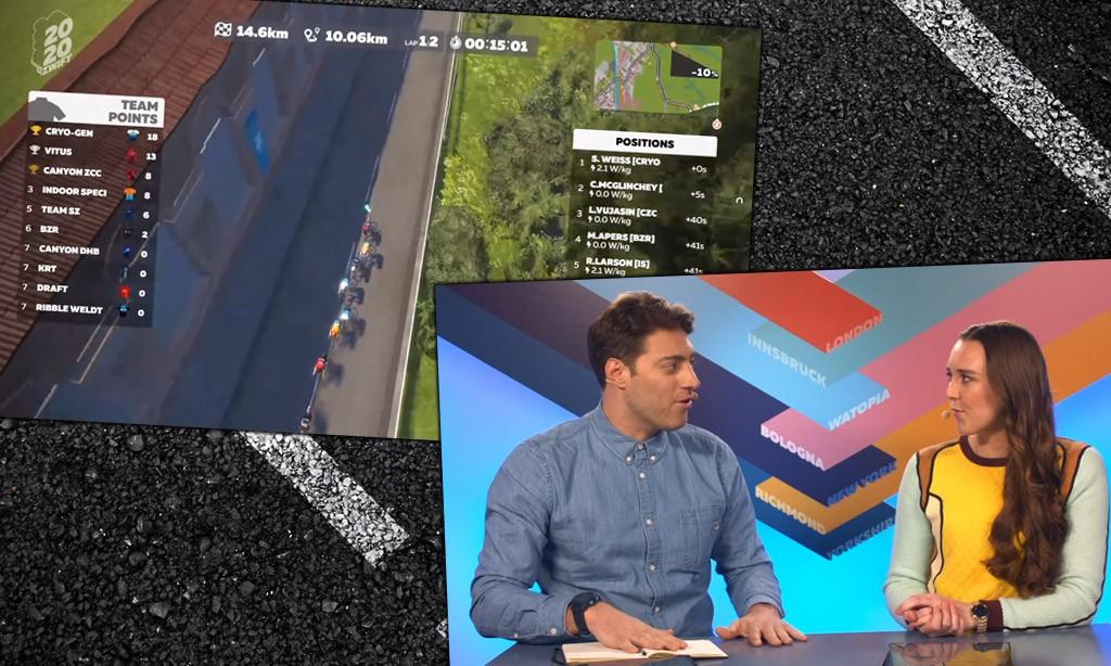 Video: Tour de Zwift Stage 4: Bologna Pro-Am Race