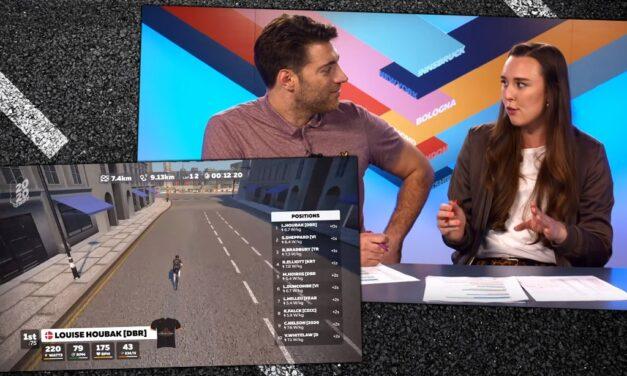 Video: Tour De Zwift Stage 1: London Pro-Am Race