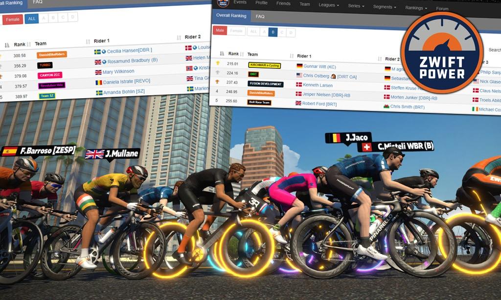 ZwiftPower Releases Race Team Rankings