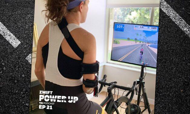 Skye Moench on Goal Setting  (Zwift Power Up Tri Podcast #21)