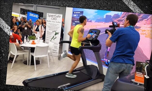 Video: Running a Sub-4-Minute Mile on Zwift