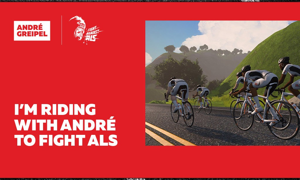 Will Andre Greipel's Fight ALS Mega Ride Be Zwift's Biggest Ever?