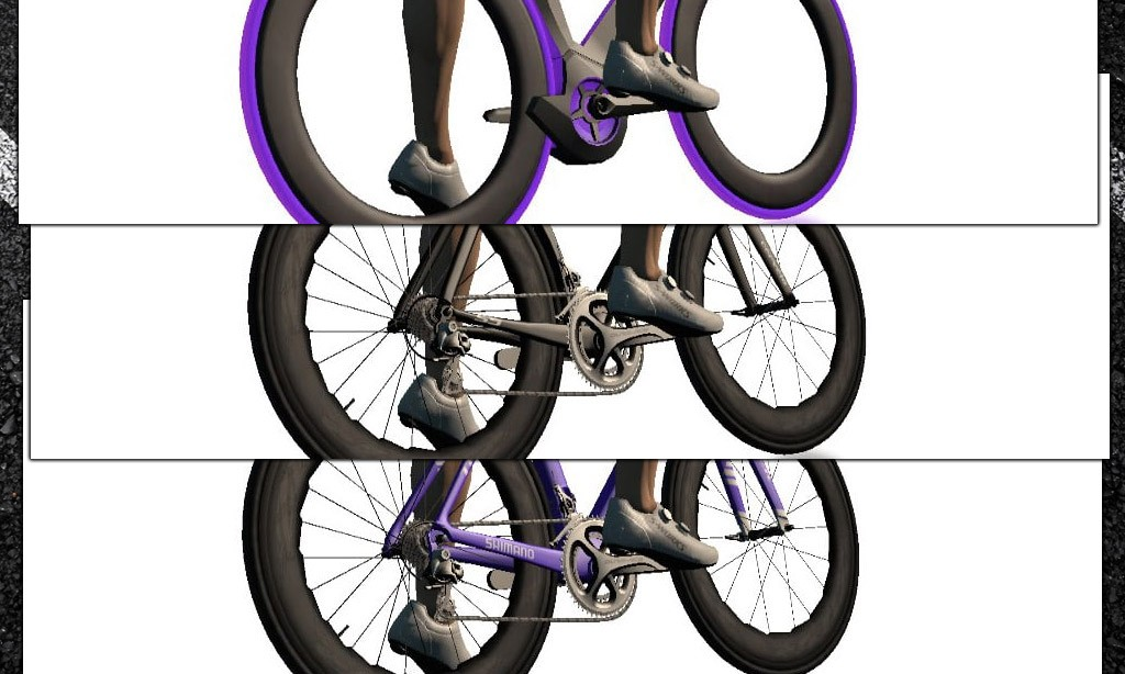 Fastest Bike Frames and Wheels for Zwifters Level 30 and Below
