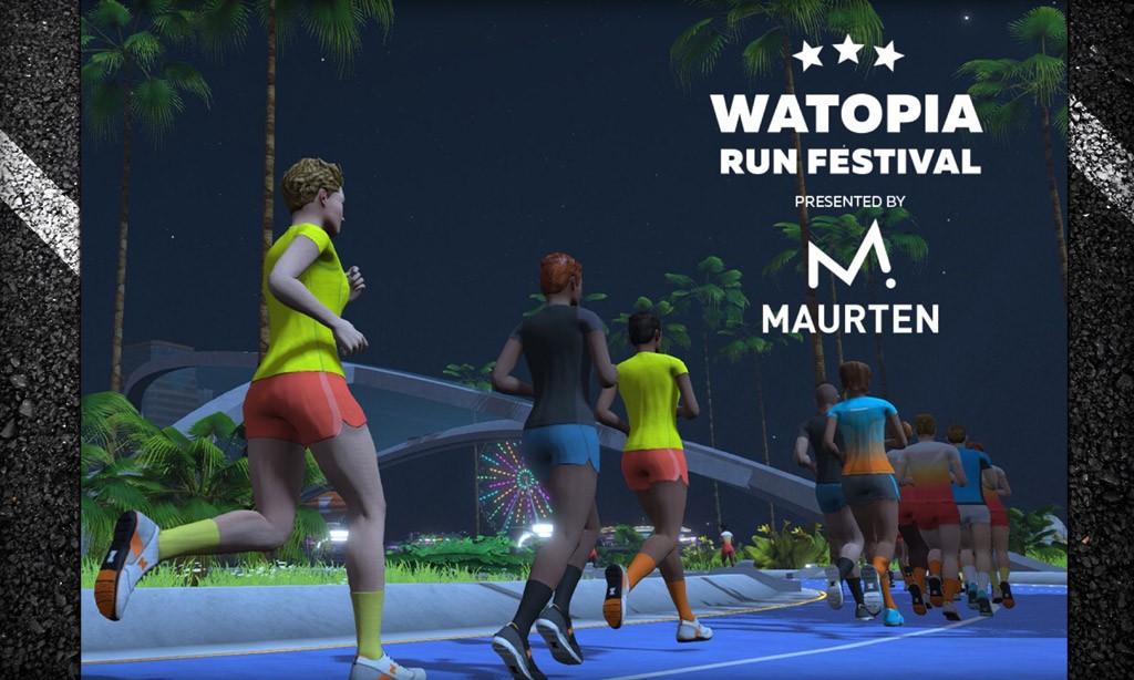 Watopia Run Festival this Weekend