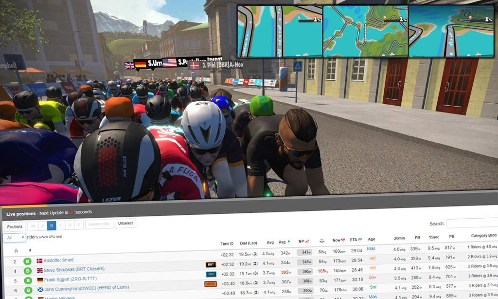 """Seeing"" the Race on Zwift: Strategies, Tools, and Tips"
