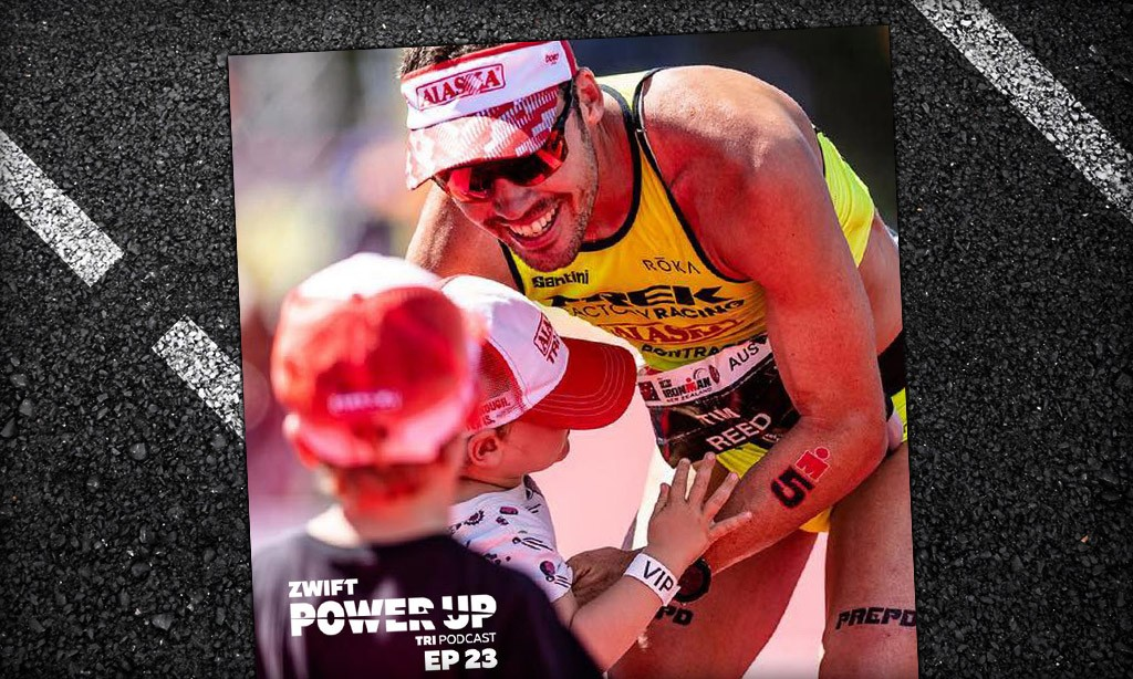 Tim Reed: Perception vs Reality of Being a Pro Triathlete  (Zwift PowerUp Tri Podcast #23)
