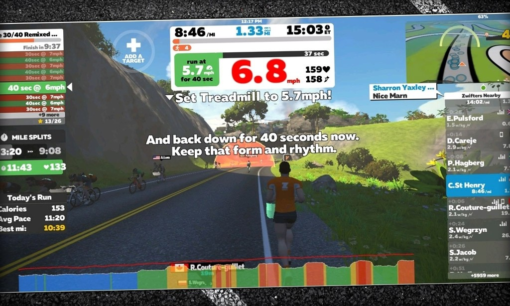 Things I Have Learned as a Beginner Runner On Zwift