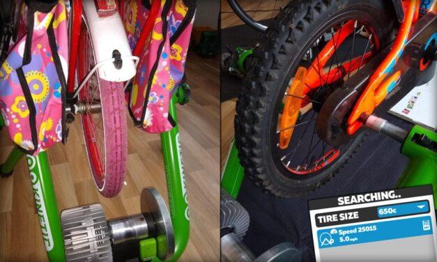 How I Set Up My Kids' Bikes On Zwift