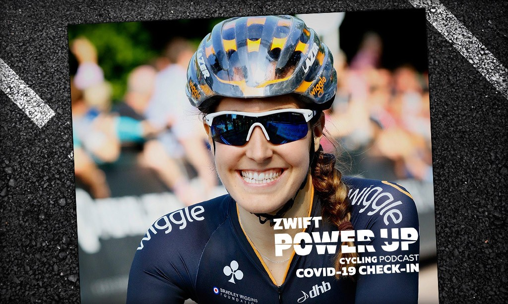 Covid-19 Host Check-In With Dani Rowe (Zwift PowerUp Cycling Podcast)