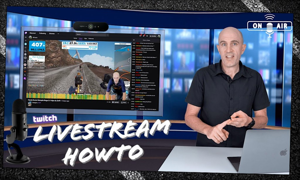 Video: How To Livestream Your Indoor Ride – Online Streaming Basics