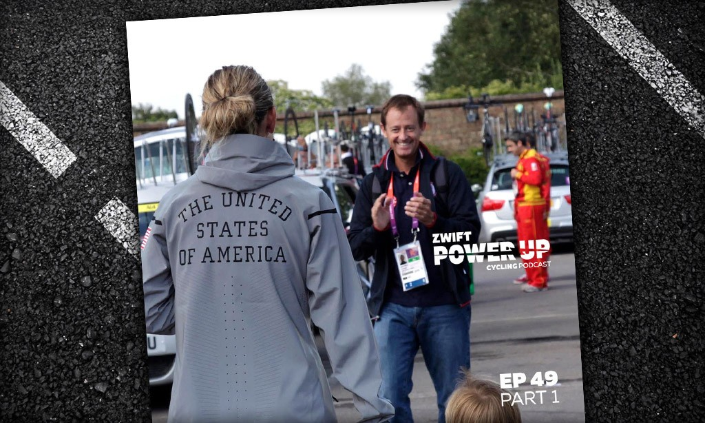 Jim Miller on Helping USA Cycling Win 14 Olympic Medals (Zwift PowerUp Cycling Podcast #49)