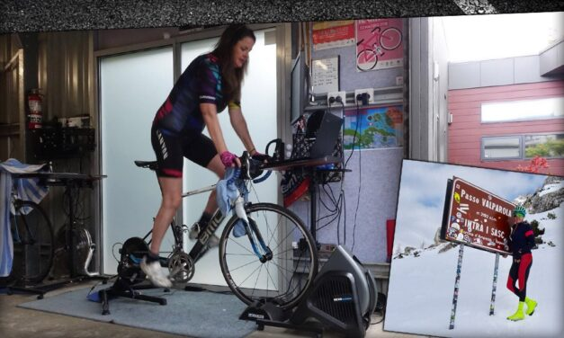 Meet the First Woman To Hit 100,000km on Zwift