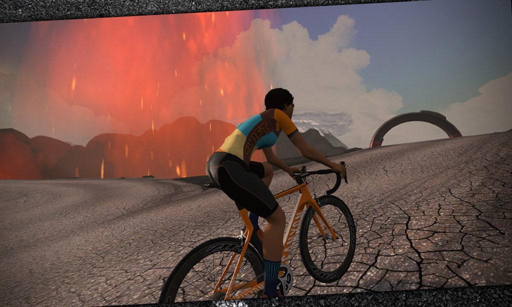Whole Lotta Lava Route Details Watopia Zwift Insider