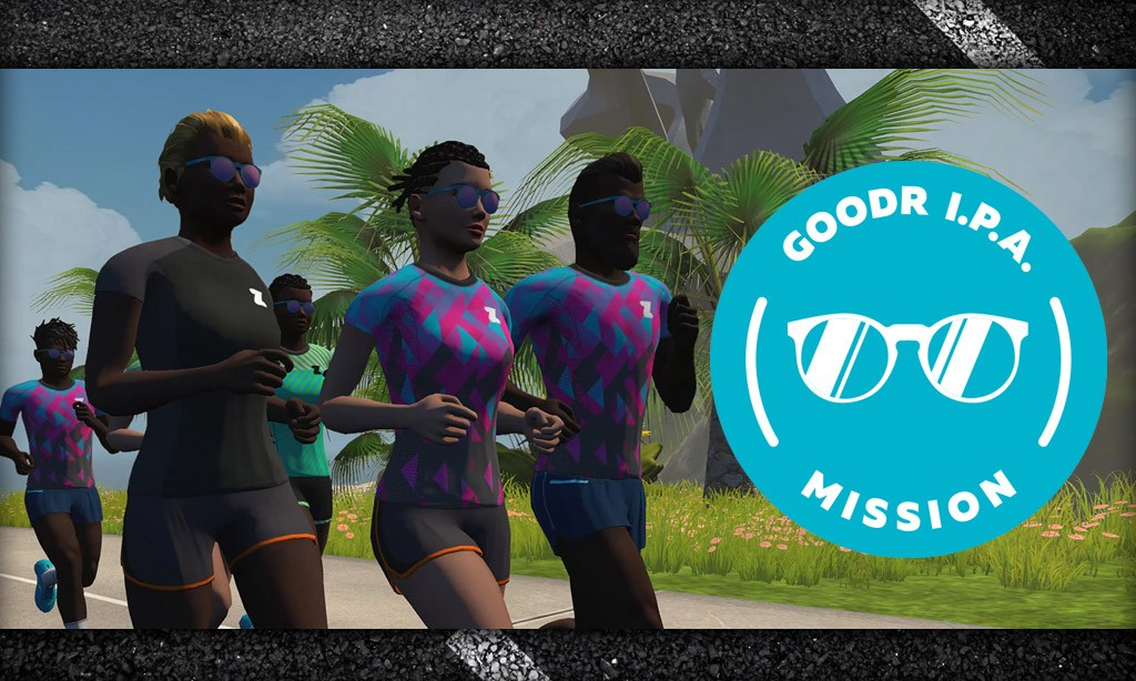 All About Zwift Run's Goodr I.P.A. Mission