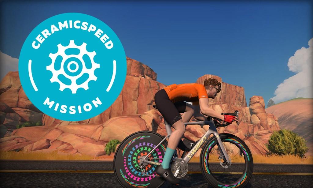 All About Zwift's CeramicSpeed Mission