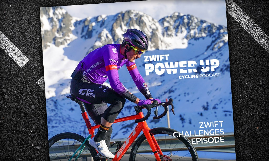 Willie Smit on Conquering Zwift Challenges (Zwift PowerUp Cycling Podcast)