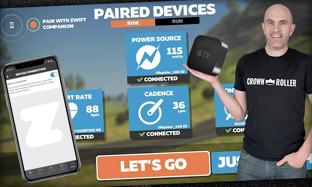 Swift Zwift Tip: Changes to Zwift AppleTV Device Pairing // Companion App Pairing