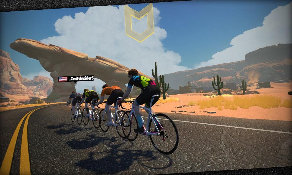 Speed Tests: 4-Rider Drafting (TTT)