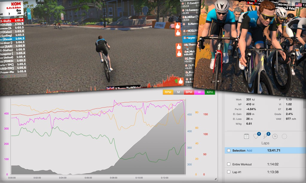 How the Race was Won: Virtual Joe Martin Stage Race
