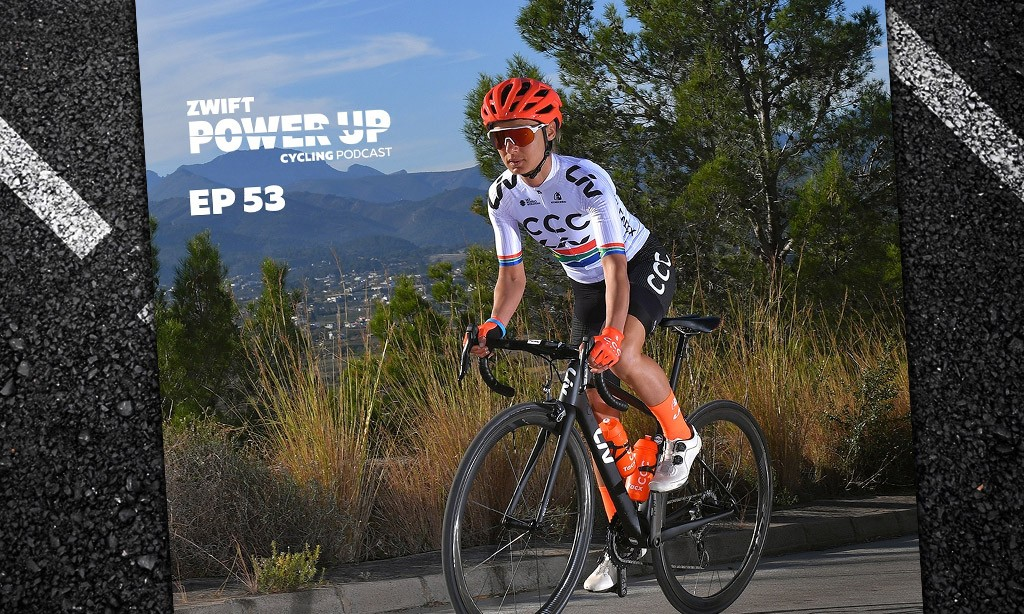 Ashleigh Moolman Pasio on Lockdown Life and Zwift Racing (Zwift PowerUp Cycling Podcast #53)