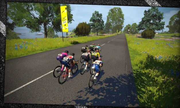 Men's Virtual Tour de France Stage 4: The Final Moments